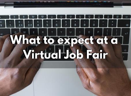What to expect at a Virtual Job Fair