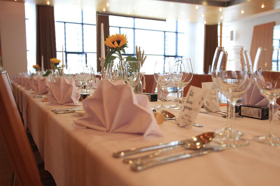 Hochzeits Saal im Hotel Restaurant Belle