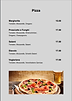 © Pizza Karte Hotel Restaurant Bellevue Naters