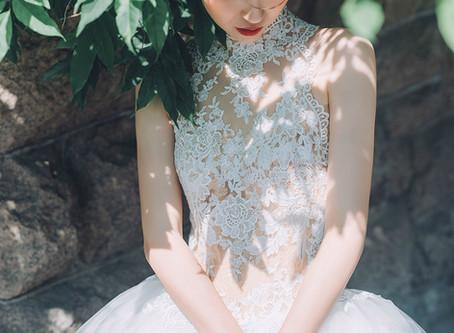 選紗tips: 5個新娘子常見的身材煩惱