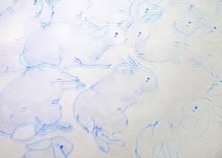 臥兔局部LayingRabbits(partial)