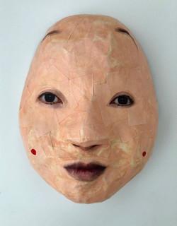 Self Portrait as Okame
