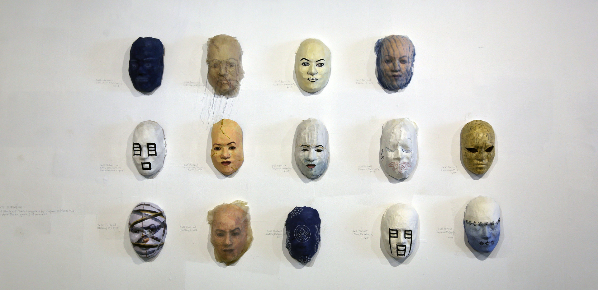 MTurnbull-Mask Exhibit at JCCC4