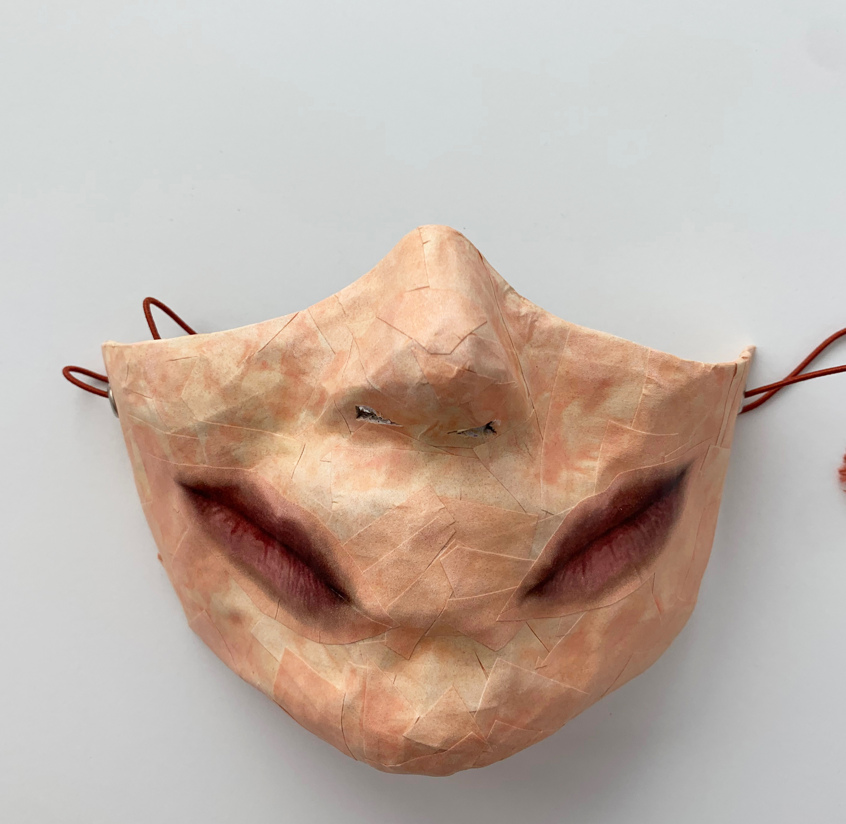 Self-Portrait (Covid Mask #2)