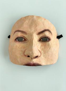 Self Portrait (Half Mask #1)