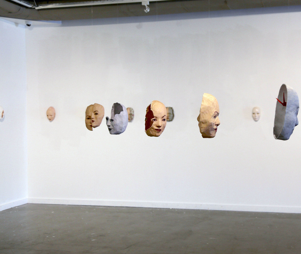 MTurnbull-Mask Exhibit at JCCC 2