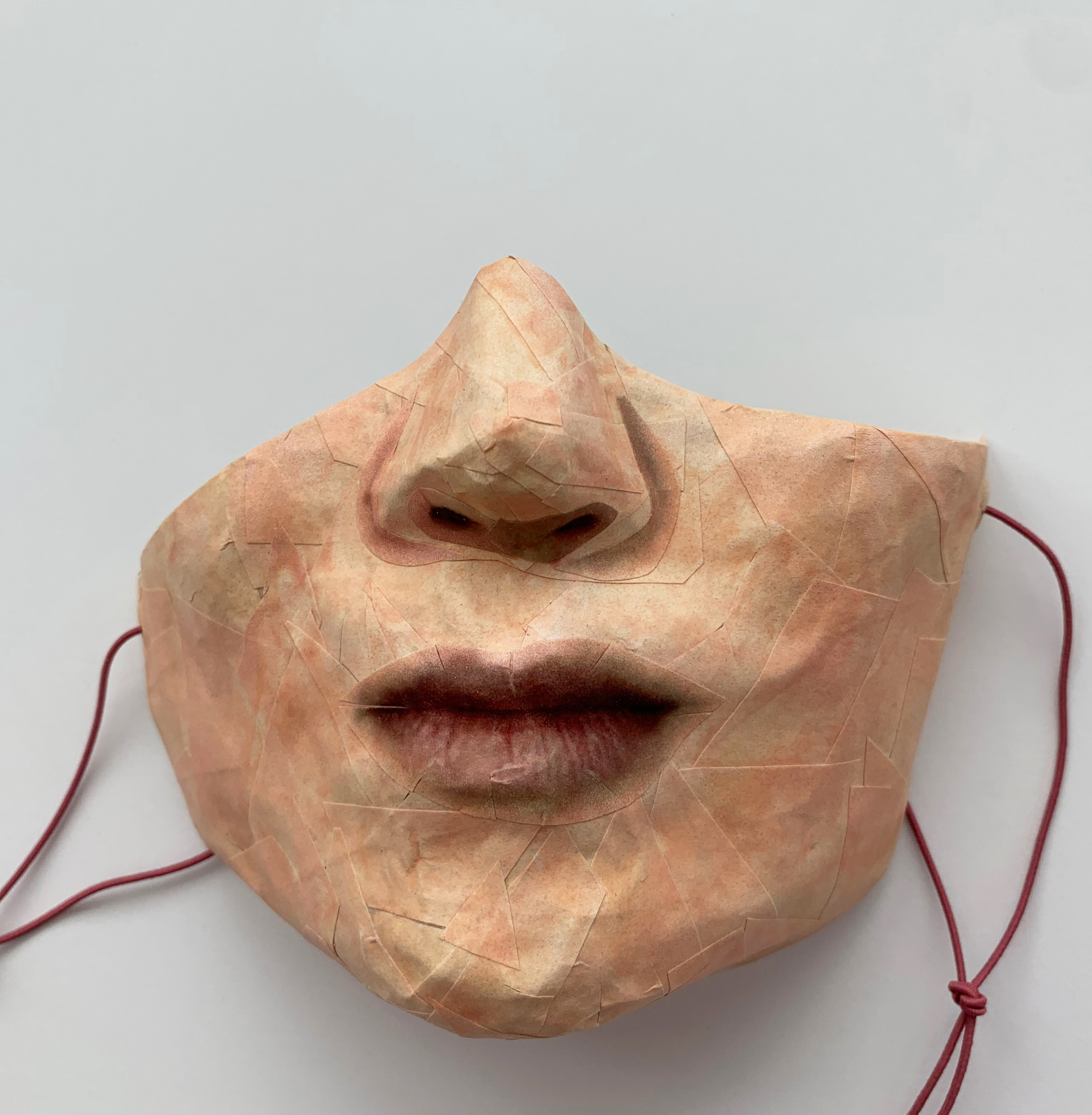 Self-Portrait (Covid Mask #1)
