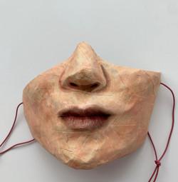 Self-Portrait (Covid Mask #1)