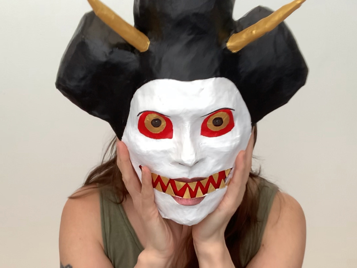 Self Portrait (Bunraku Demon).jpeg