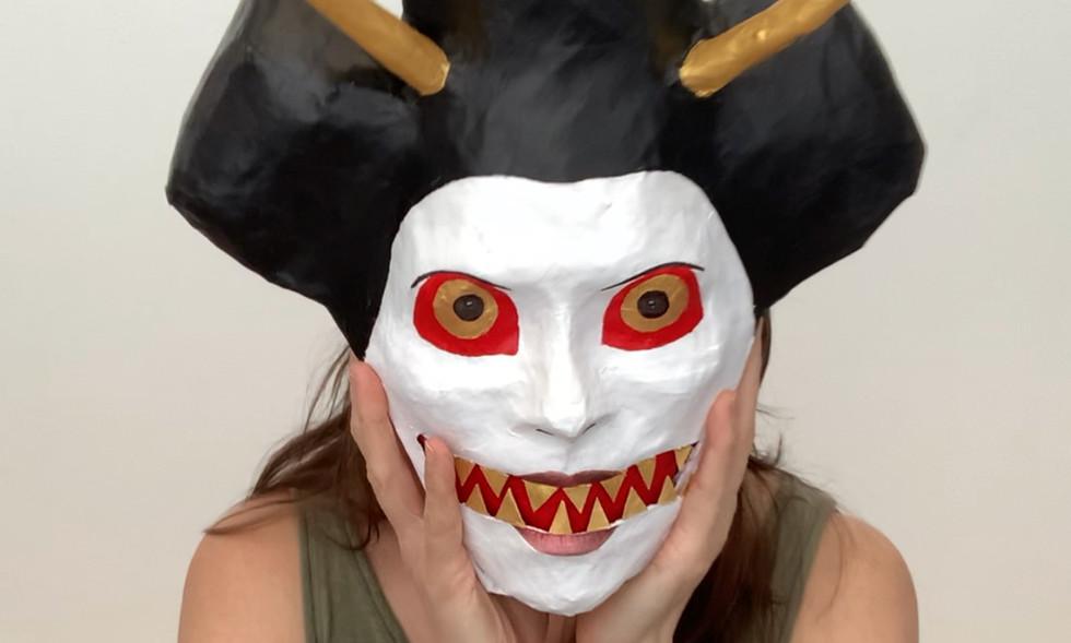 Self Portrait (Bunraku Demon).jpeg