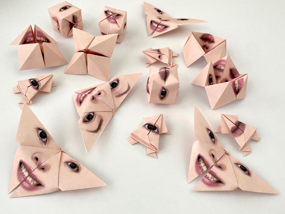 Origami Self-Portrait Compilation.jpeg