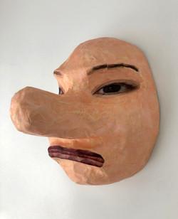 Self Portrait as Tengu (#1)