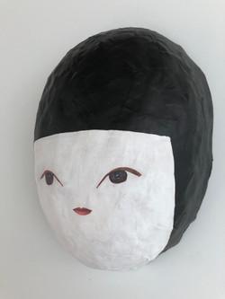 Self Portrait as a Kokeshi Doll
