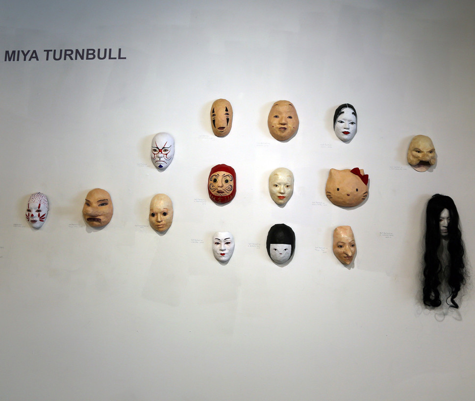 MTurnbull-Mask Exhibit at JCCC 6