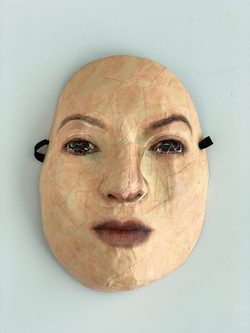 Self-Portrait (Ripped Eyes)