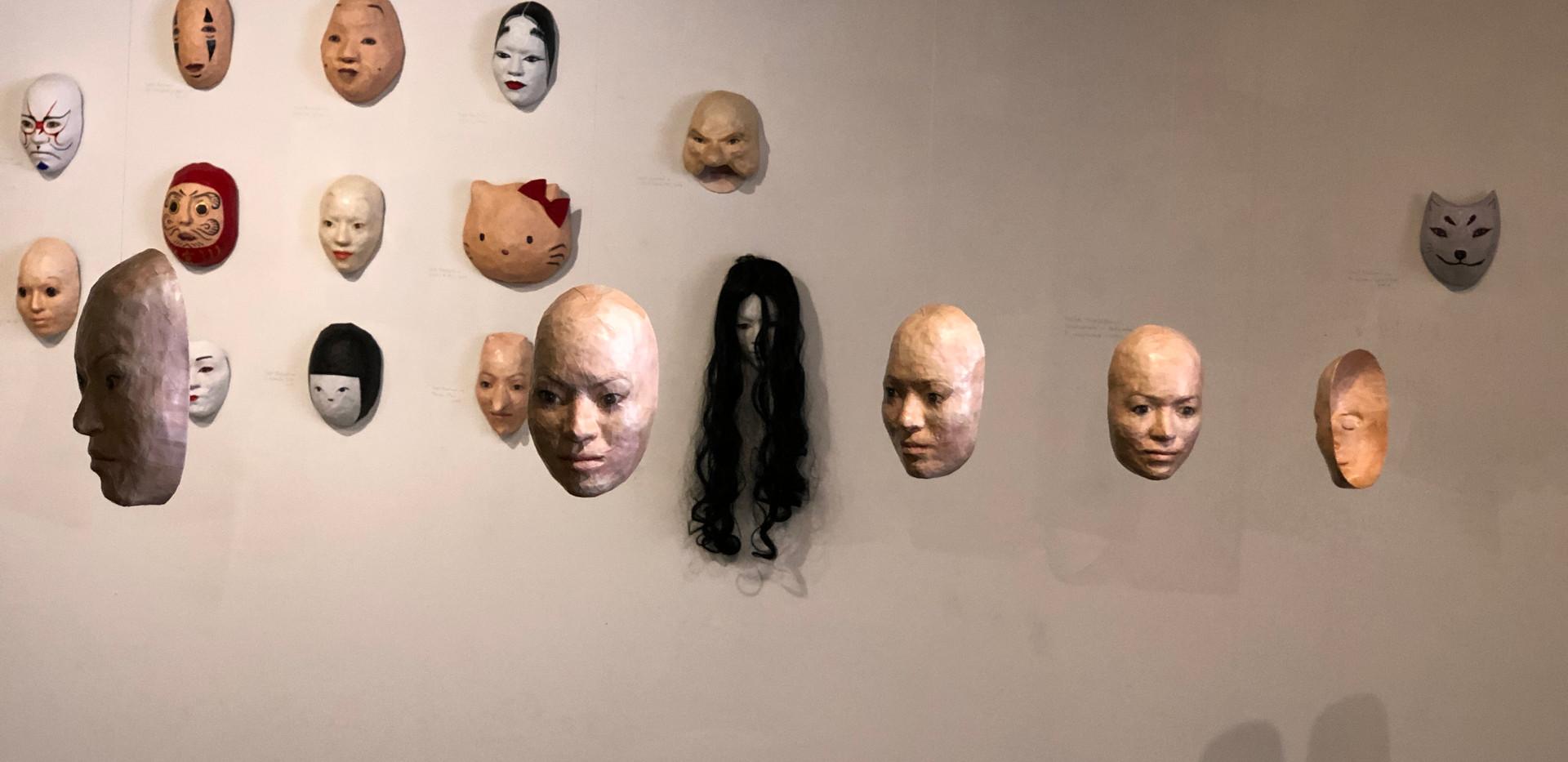 MTurnbull-Mask Exhibit at JCCC 5