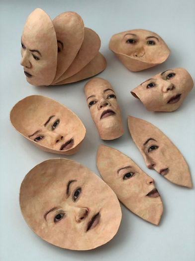 11 Turnbull- Assorted Sculpture Masks.jp