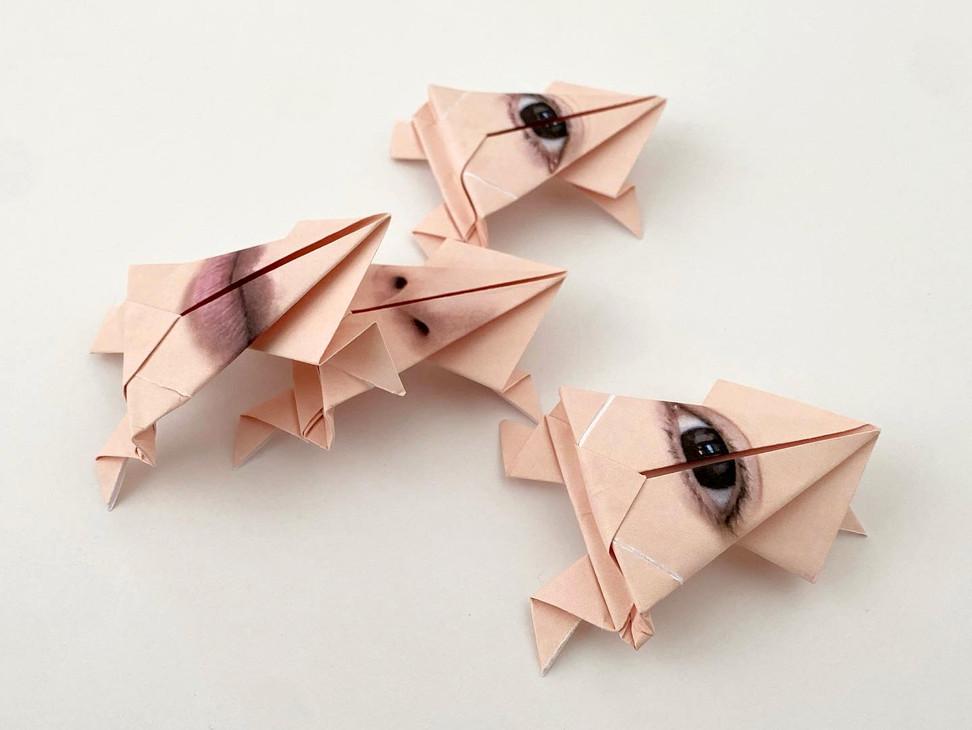 Origami Frog (Side).jpeg