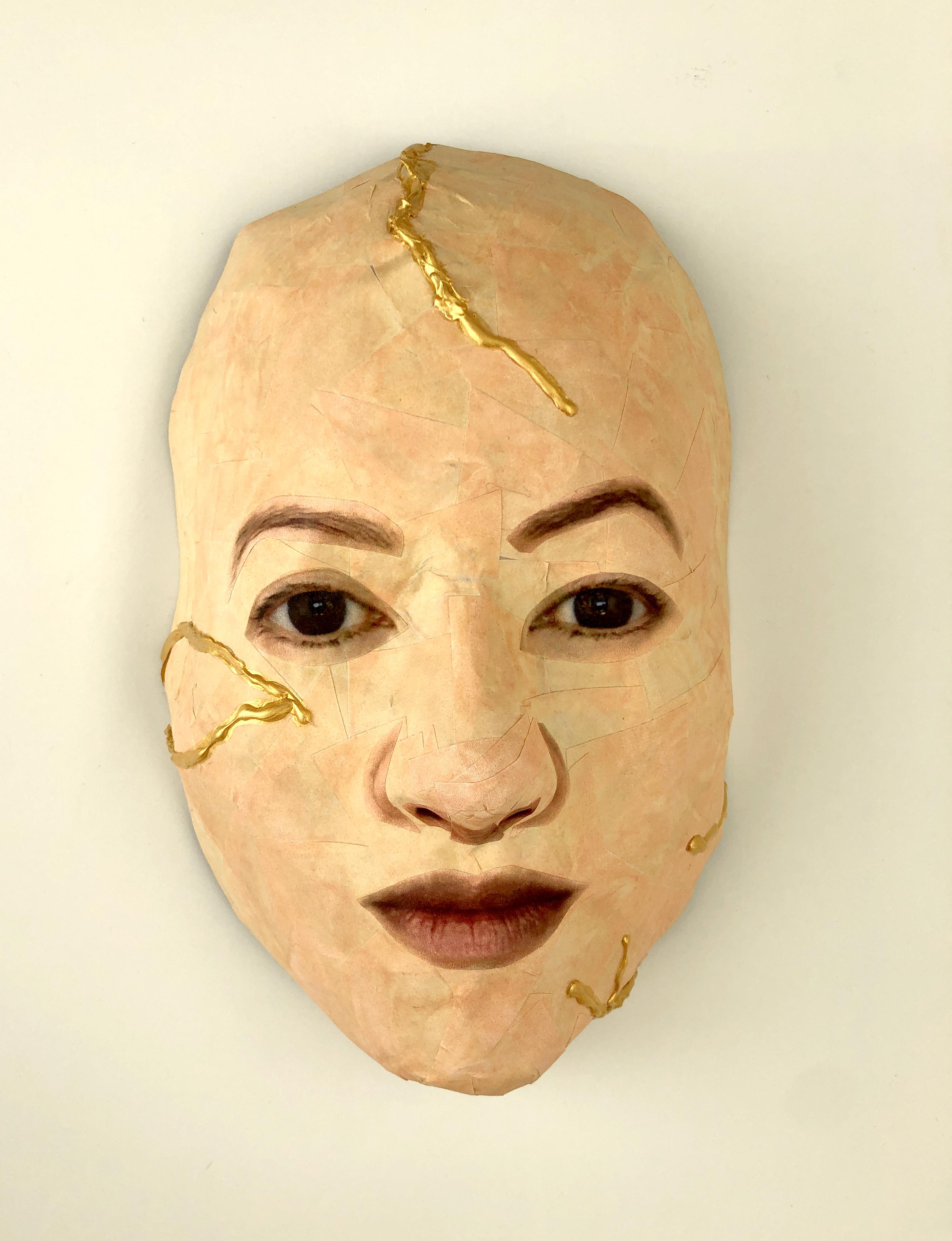 Self Portrait (Kintsugi: Precious Scars)