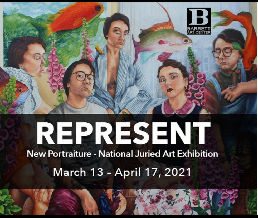 Represent- New Portraiture. Painting by