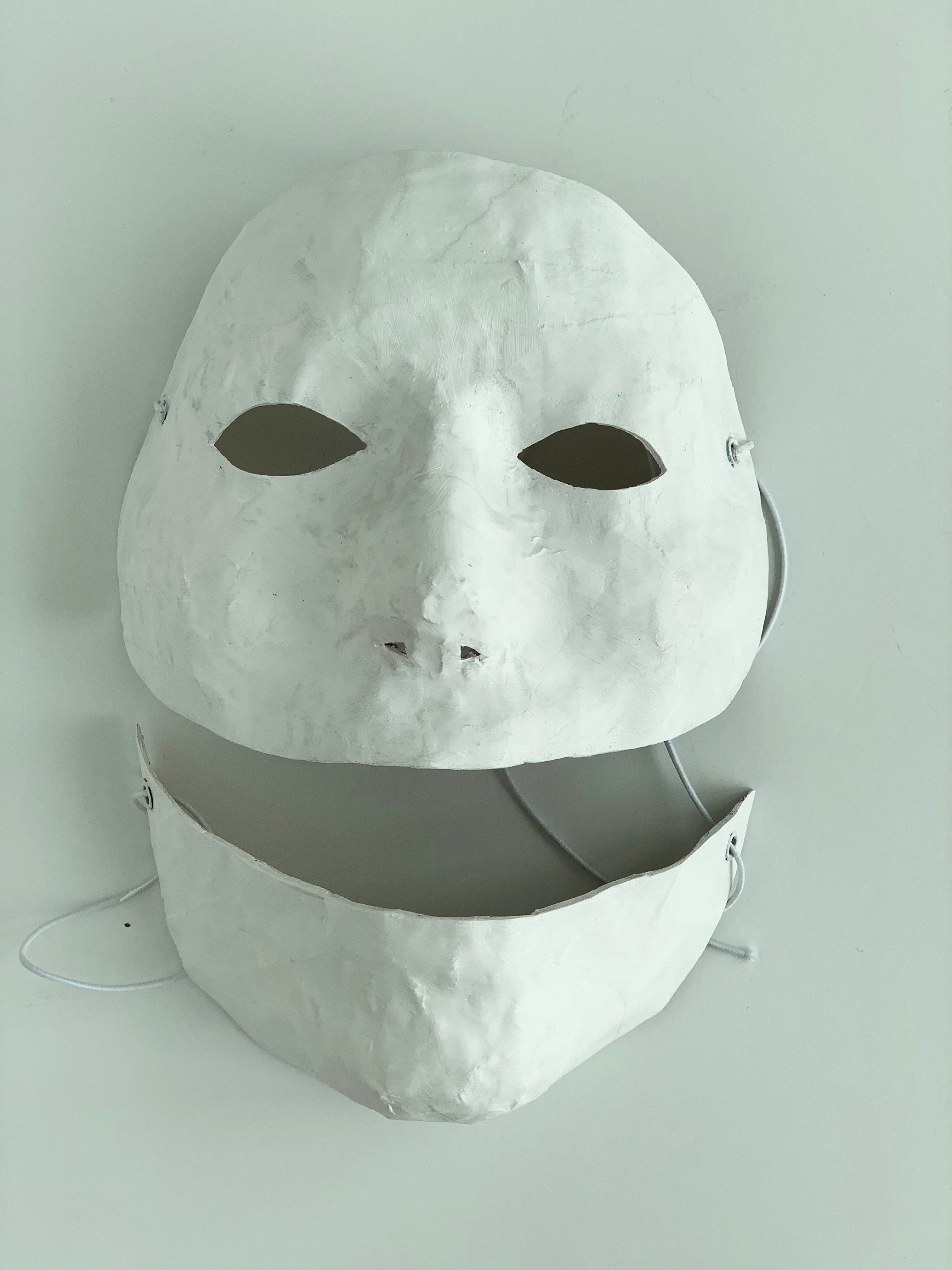 Self-Portrait (White Face #3)