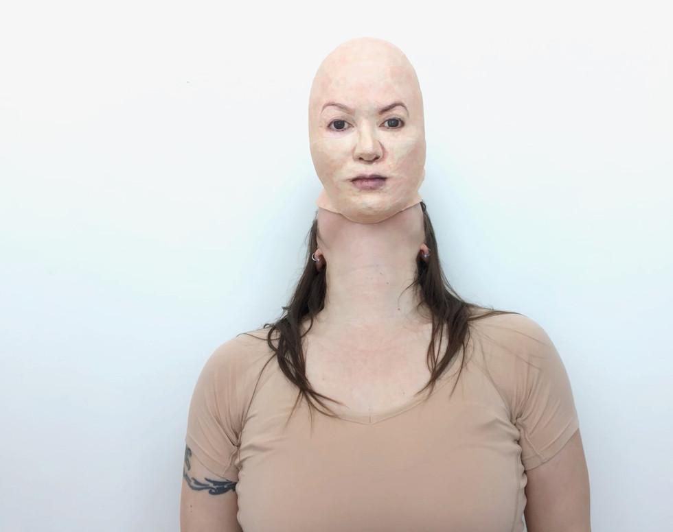 Self Portrait (Becoming) -front or Yokai