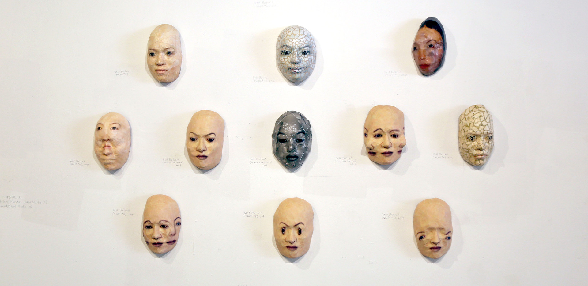 MTurnbull-Mask Exhibit at JCCC3