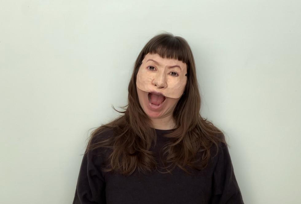 Self Portrait (Half Mask #1).jpeg