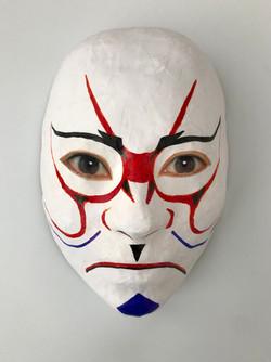 Self Portrait (Kabuki)