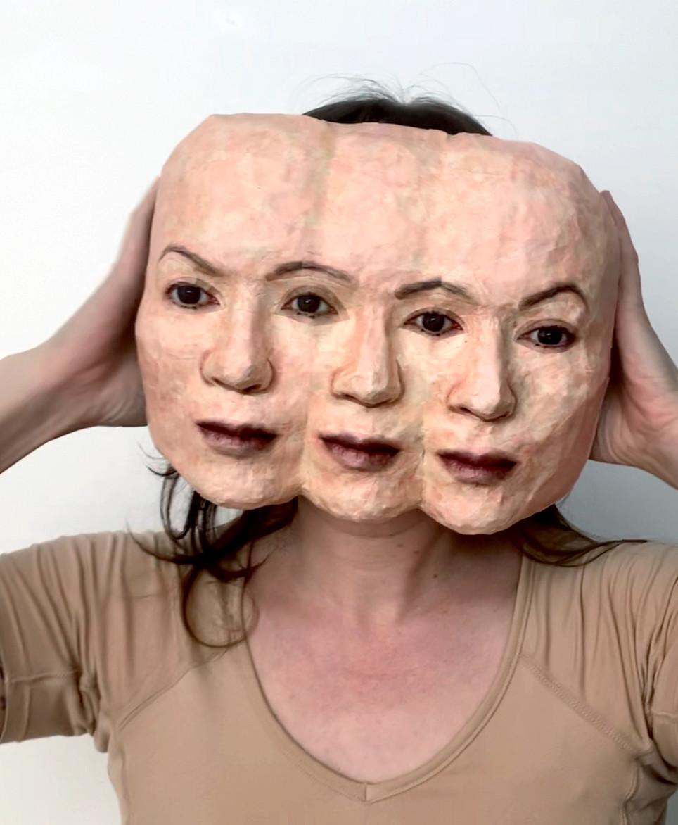 Self Portrait (Triplets)-Inspired by Mot