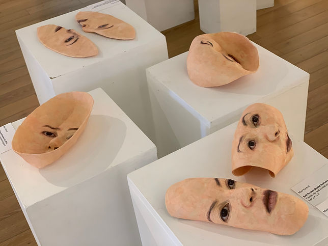Self Portrait (Mask Sculptures).jpeg
