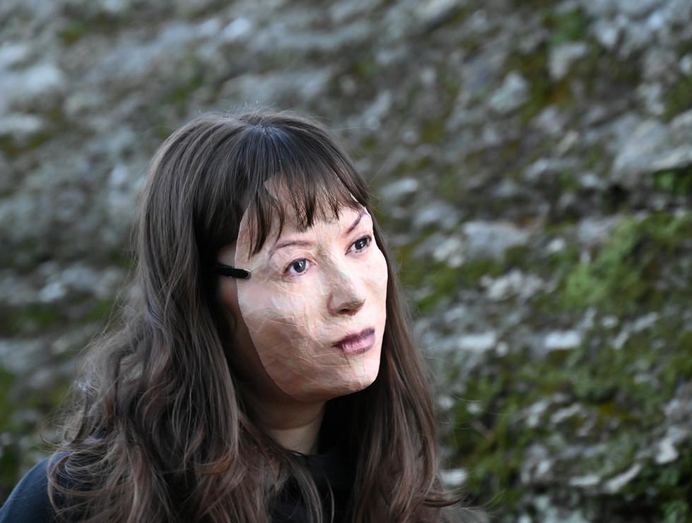 Miya with Mask, photo #2, taken by Jake