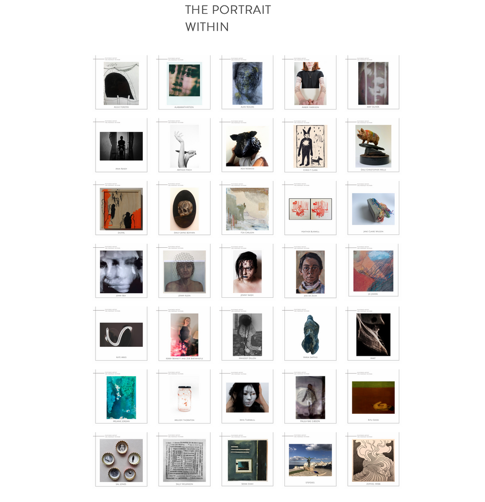 The Portrait Within - 35 artists