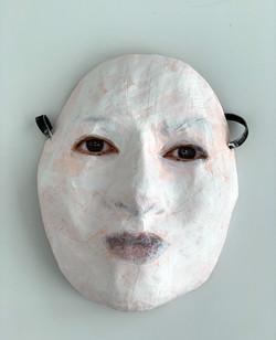 Self-Portrait (White Face #2)