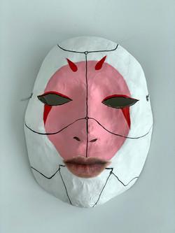 Self Portrait as Robot Geisha #2 (Ghost