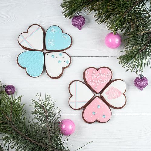 "Пряник ""Новогоднее сердце"""