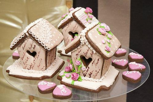 Свадебный пряничный домик