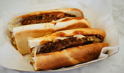 Famous Meatloaf sub.