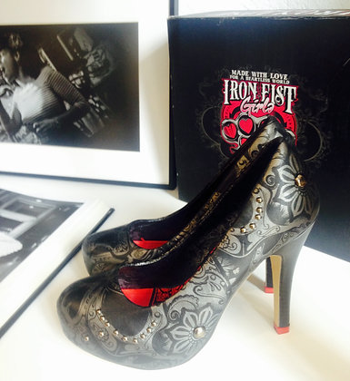 Iron Fist Girl Shoes