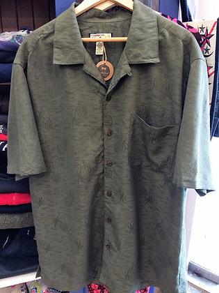 Camisa Hawaiian Green