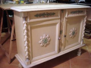 Restauración Mueble Recibidor S.XX