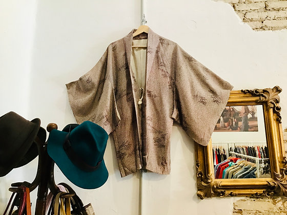 Kimono vintage japonés <Kurosawa>