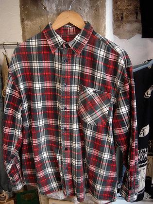 Camisa leñador. Roja
