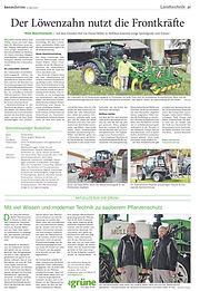Löwenzahn Artikel Berner Zeitung Mai 202