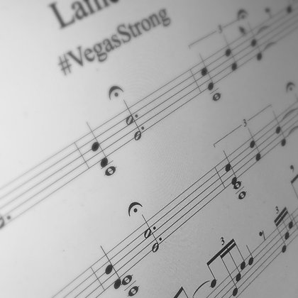 Lament (#VegasStrong) - Solo Vibe Sheet Music