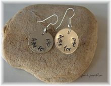 Hope for CHD Sterling Silver Earrings