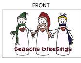 Snowmen Holiday Cards