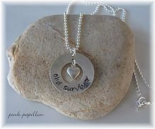 CHD Survivor Sterling Silver Necklace