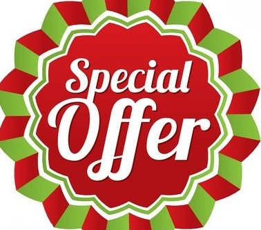 Just a few spaces left for our January offer!!
