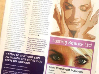 Advanced Facial Advert in Worcestershire Now Magazine!